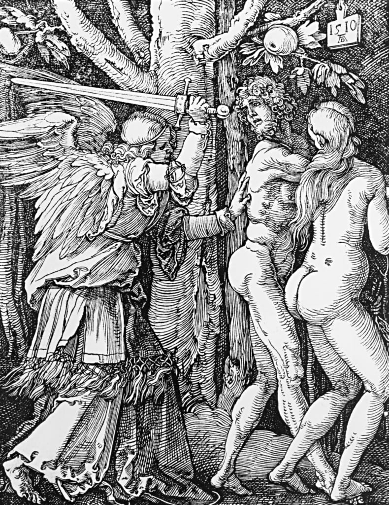 The Expulsion from Paradise, 1510 da Albrecht Dürer