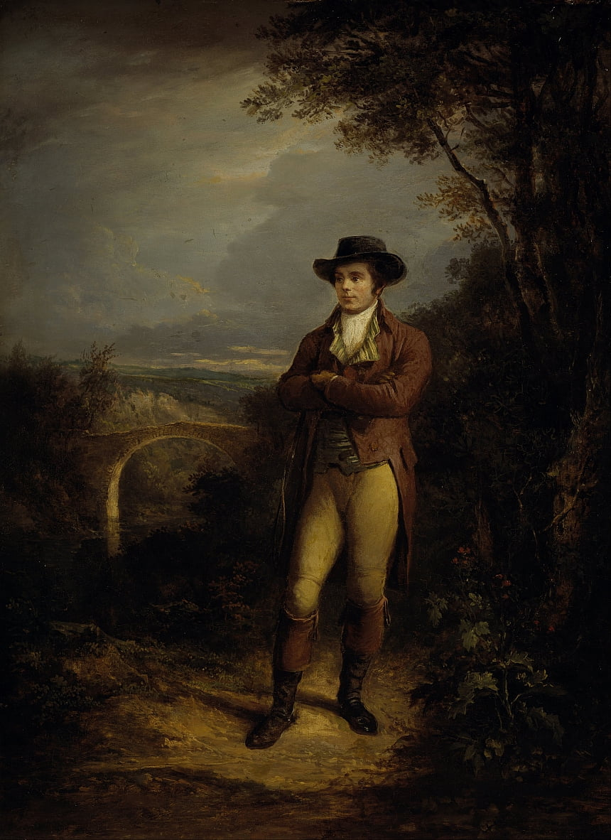 Robert Burns, 1759 da Alexander Nasmyth