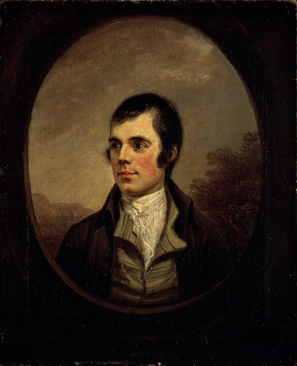 Robert Burns, 1759 - 1796 da Alexander Nasmyth