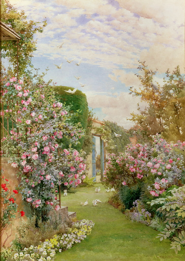 China Roses, Broadway da Alfred Parsons