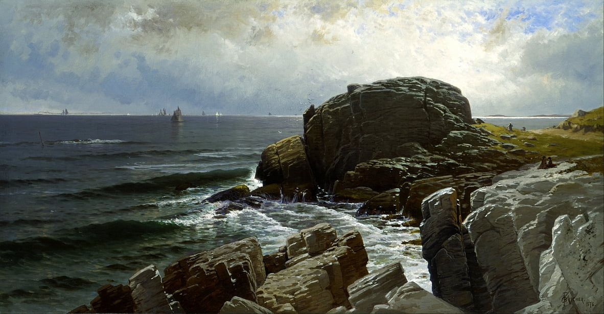 Castle Rock, Marblehead da Alfred Thompson Bricher