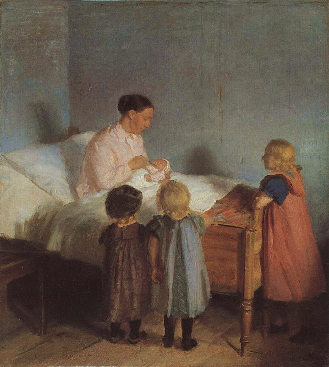 Little Brothern da Anna Ancher