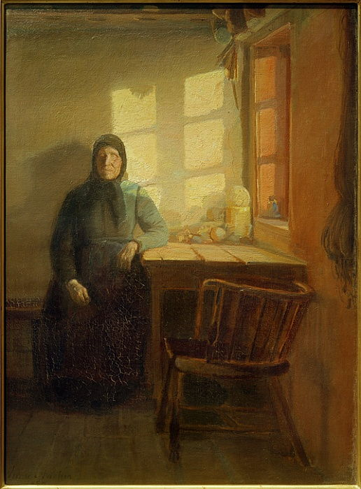Cieco al sole da Anna Ancher