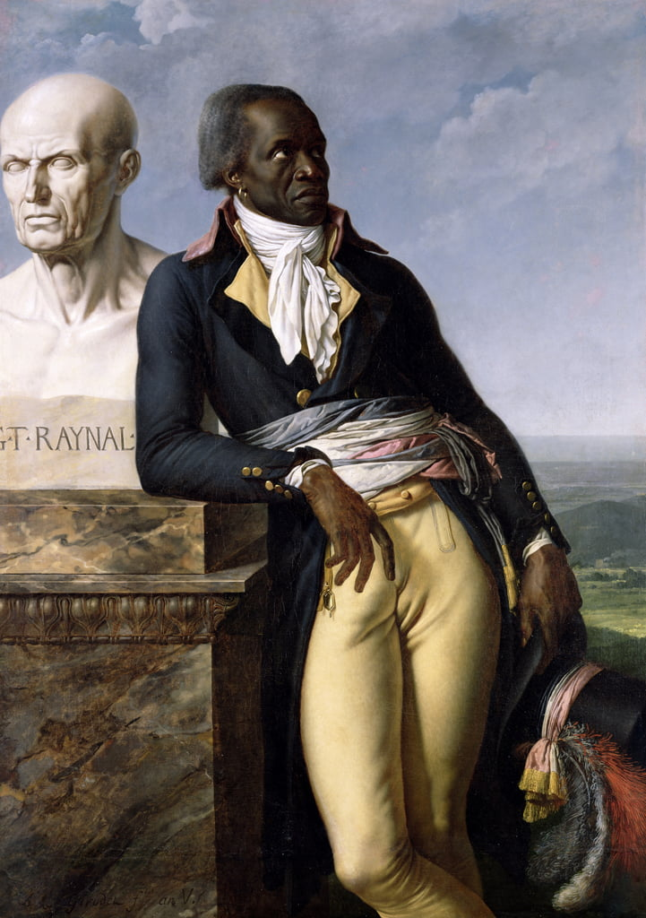 Ritratto di Jean-Baptiste Belley (d. 1804) Vice di San Domingo, 1797 da Anne Louis Girodet de Roucy Trioson