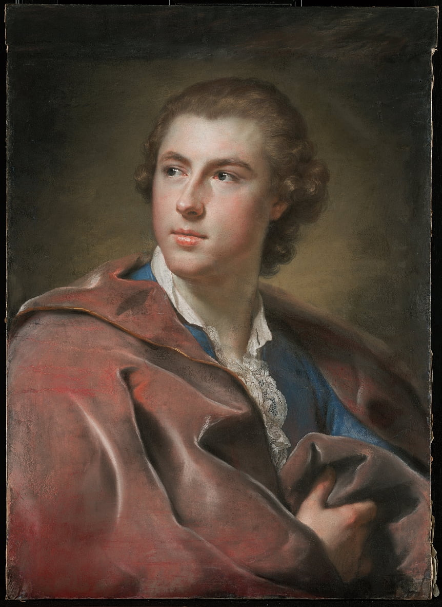 Ritratto di William Burton Conyngham da Anton Raphael Mengs