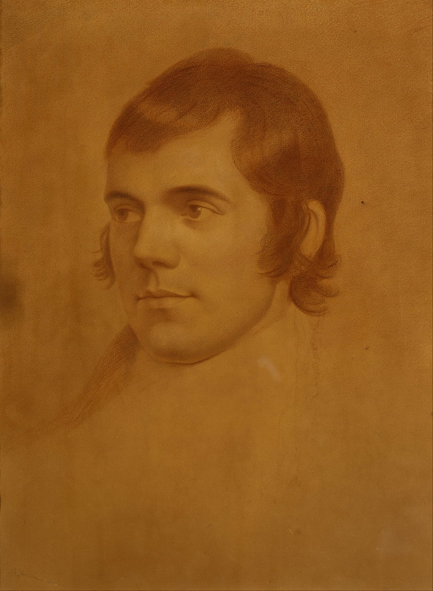 Robert Burns, 1759 da Archibald Skirving