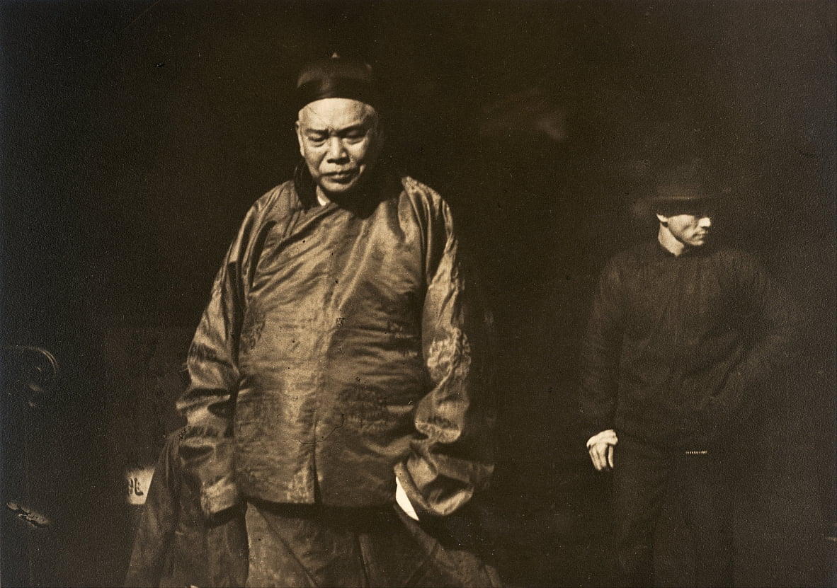 Merchant and Body Guard, Vecchia Chinatown, San Francisco da Arnold Genthe