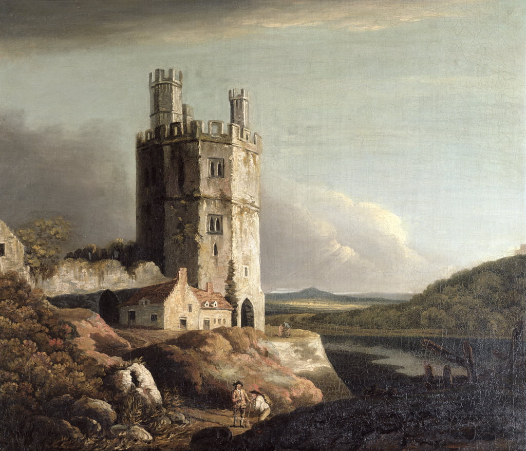 The Eagle Tower, Caernarvon Castle, 1802 da Benjamin Barker