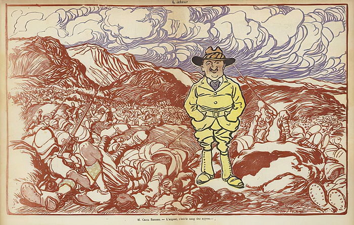 Cecil Rhodes, Illustrazione per The Laugh da Caran d Ache