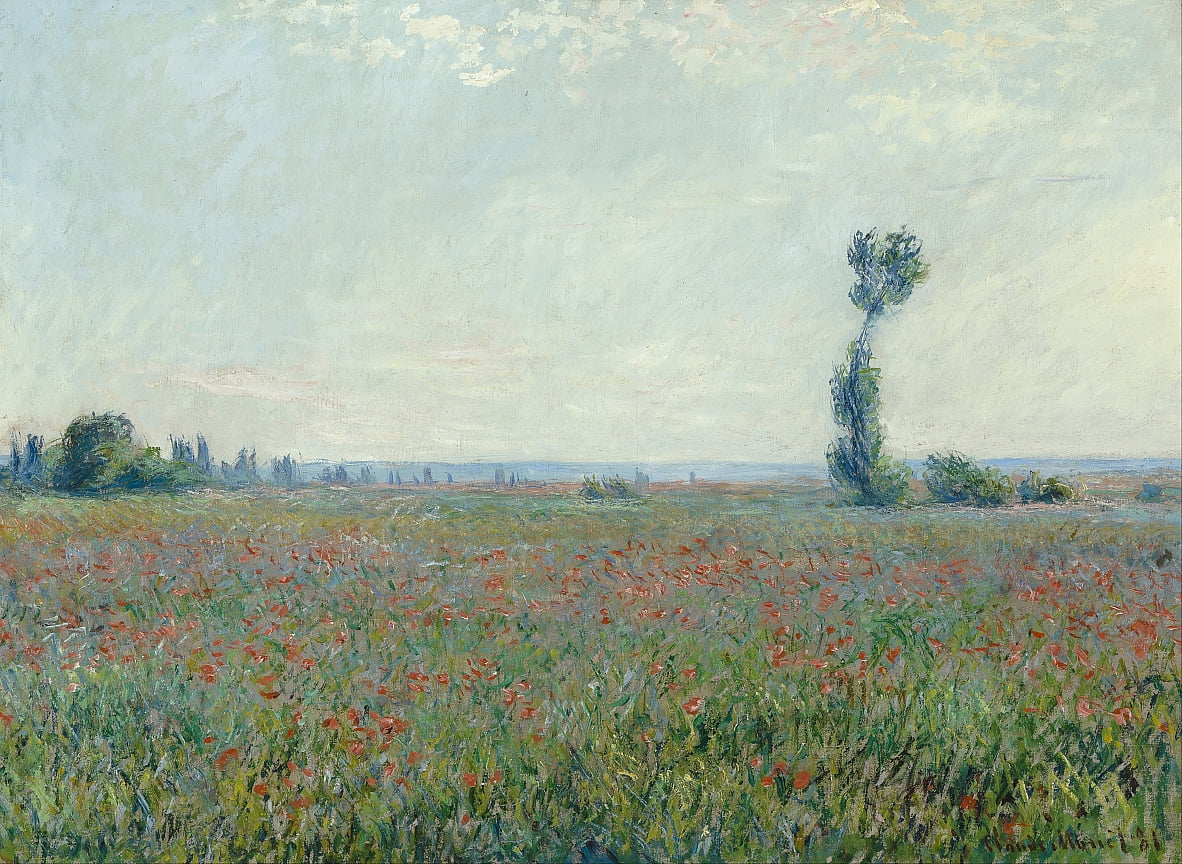 Poppy Field da Claude Monet