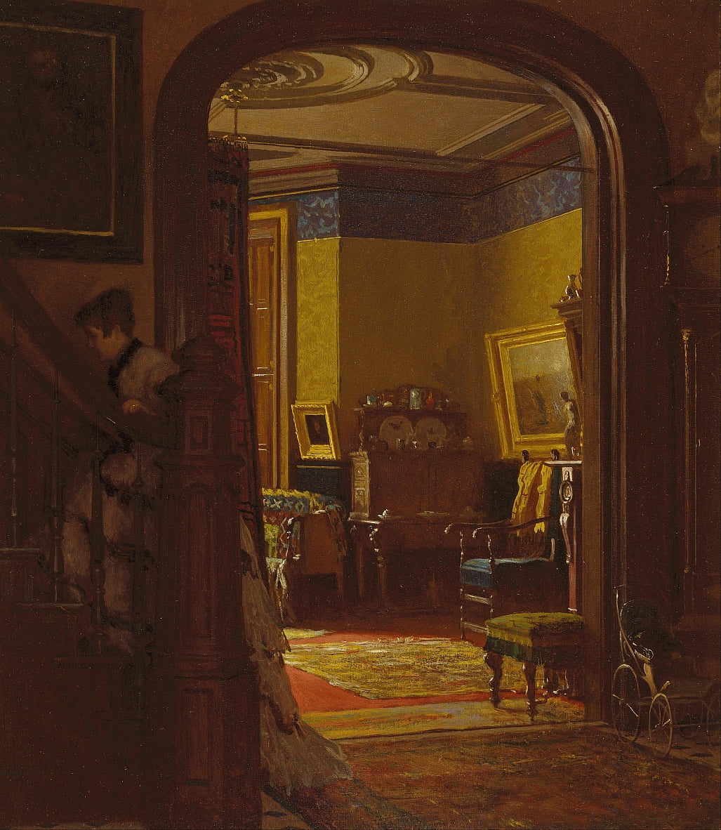 Non a casa da Eastman Johnson