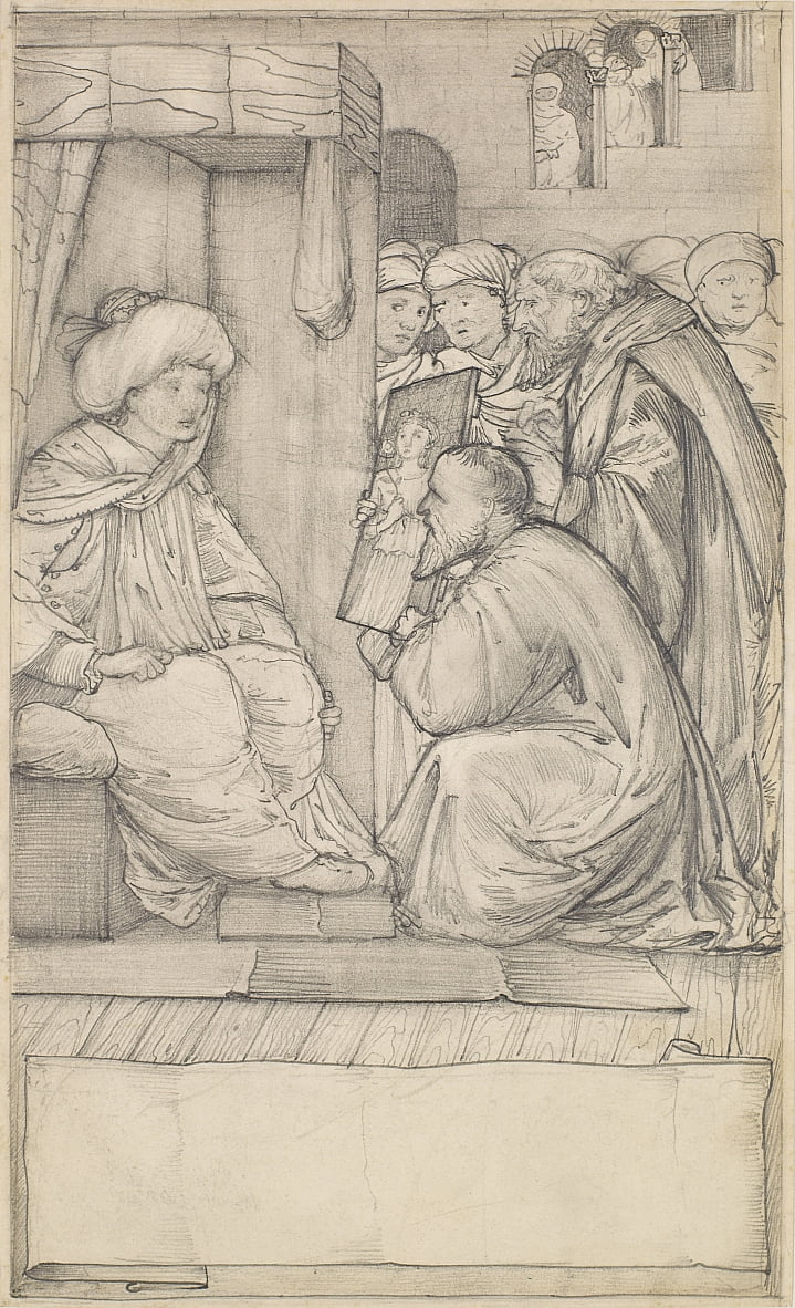 Racconto Luomo di legge da Edward Burne Jones
