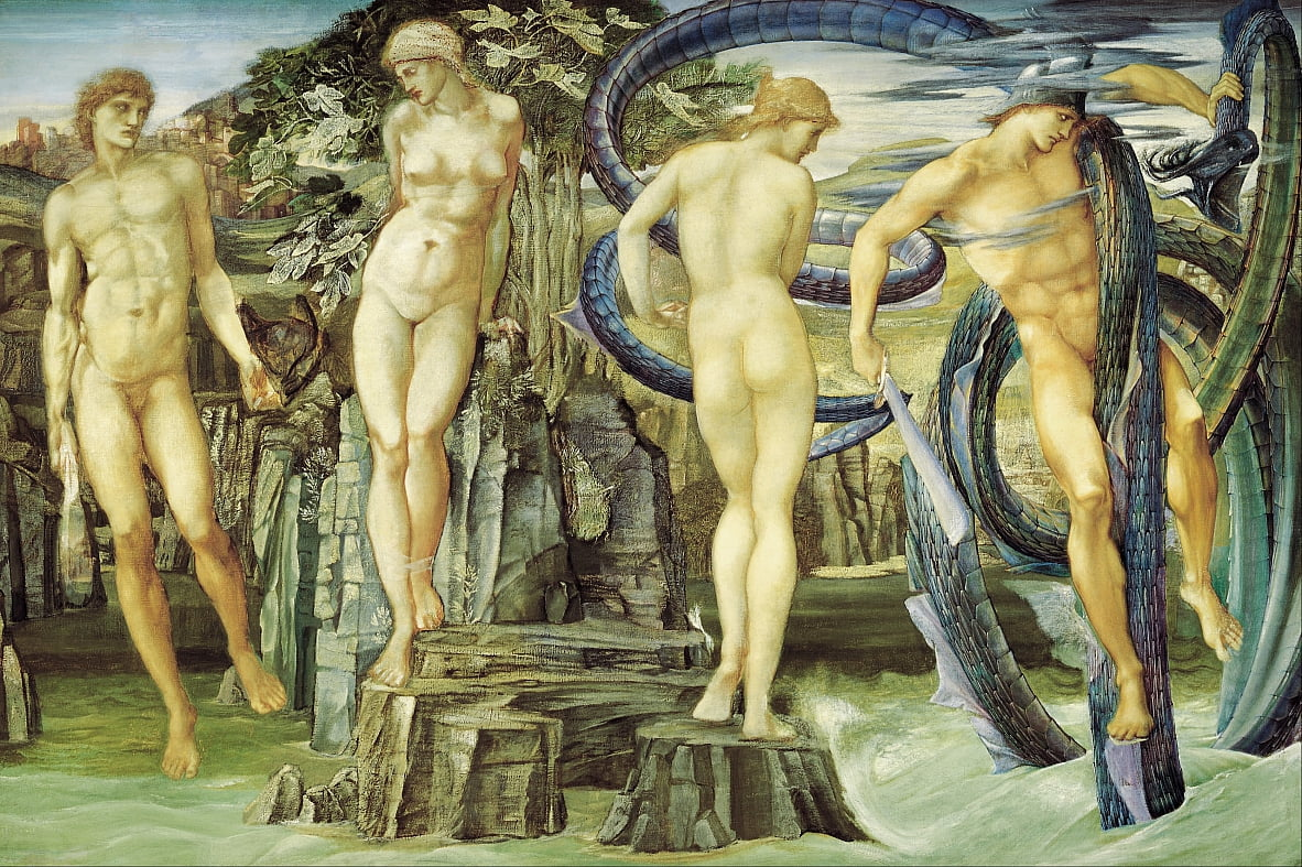 Perseo e Andromeda da Edward Burne Jones