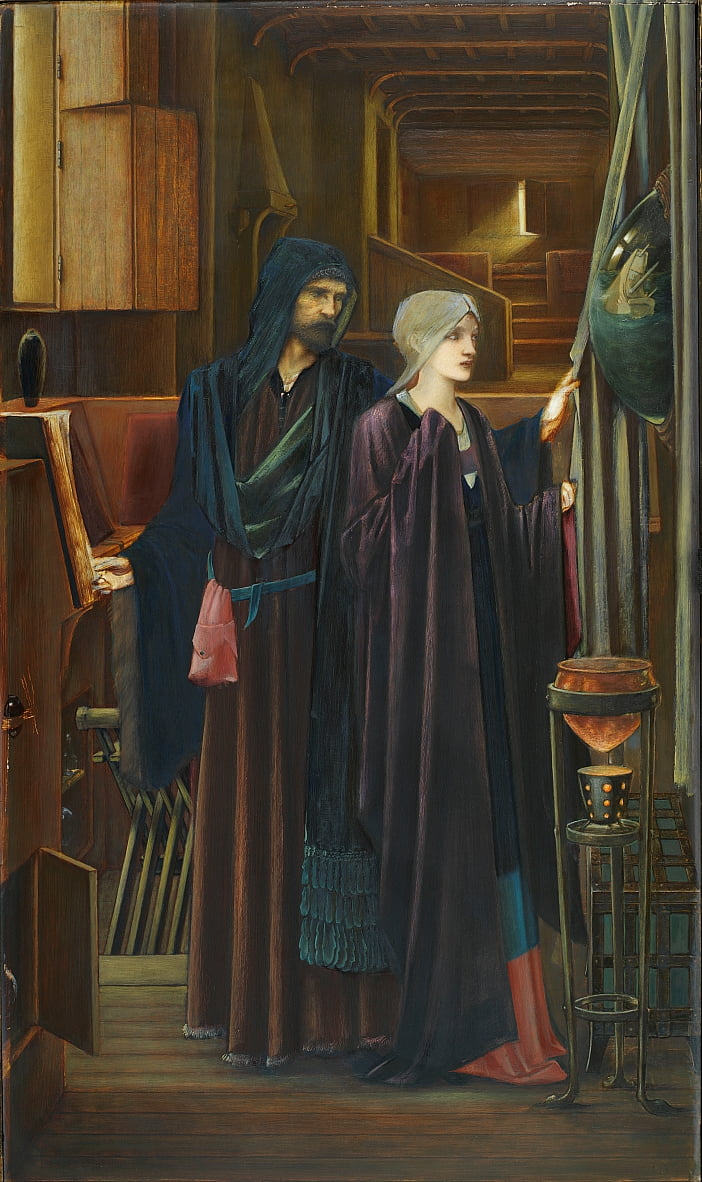 Il mago da Edward Burne Jones