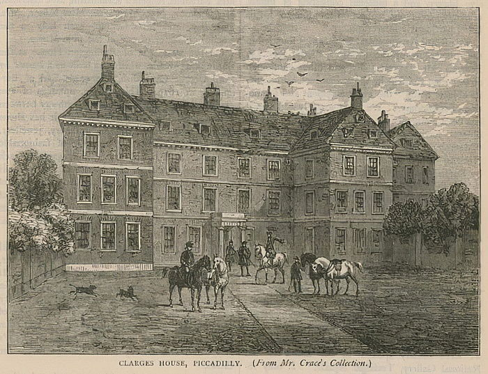 Clarges House, Piccadilly, Londra da English School