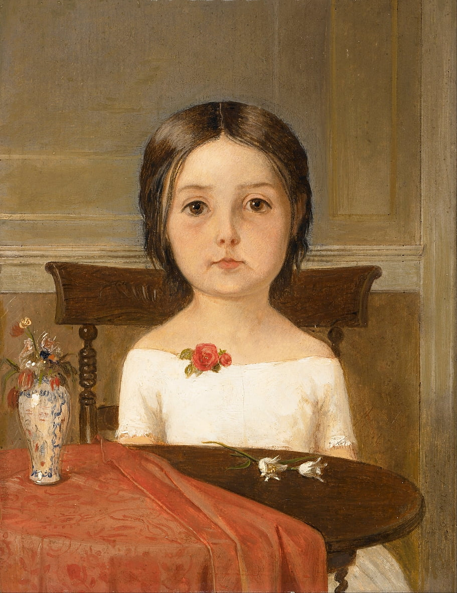 Millie Smith da Ford Madox Brown