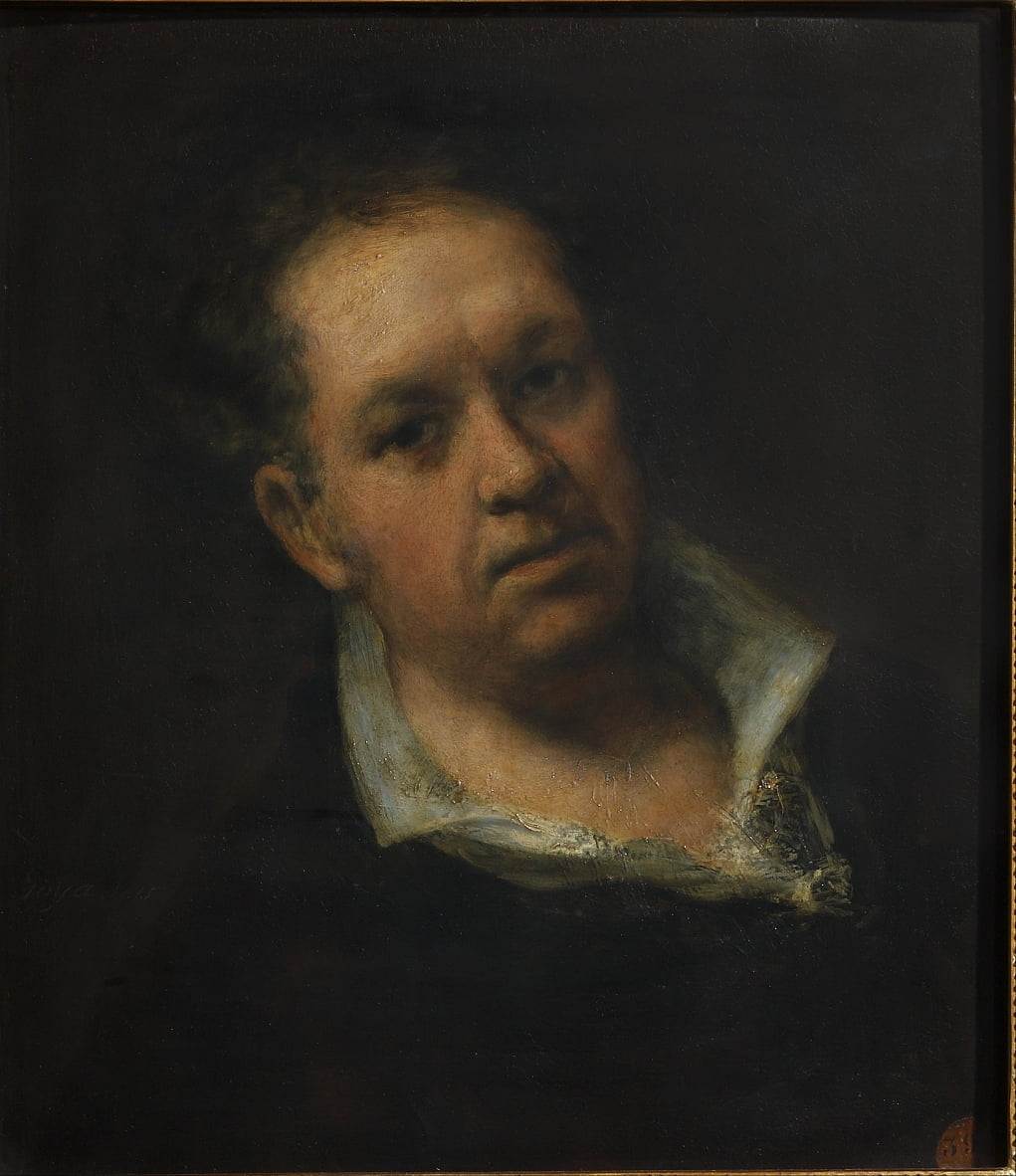 autoritratto da Francisco de Goya