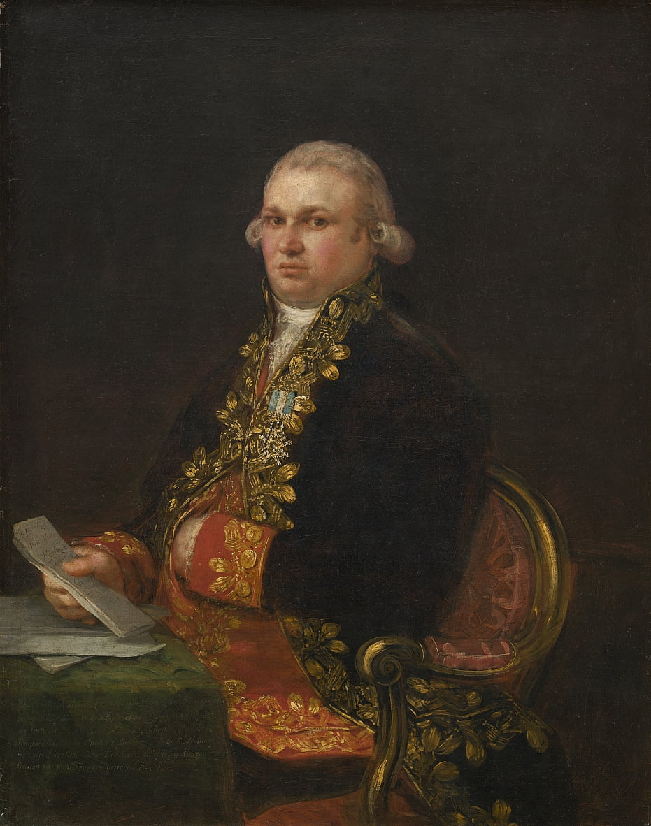Don Antonio Noriega da Francisco de Goya