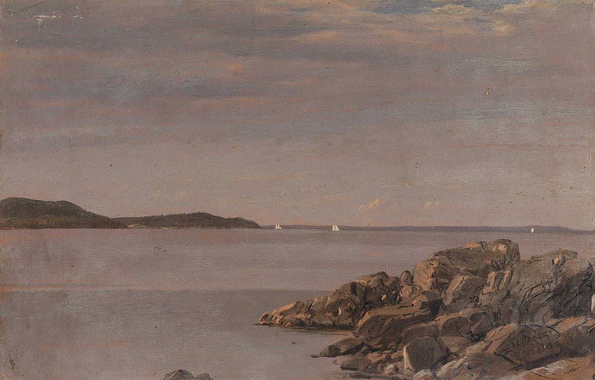 Mt. Desert Island, Costa del Maine da Frederic Edwin Church