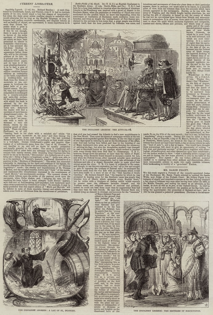 The Ingoldsby Legends da George Cruikshank