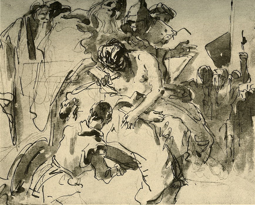 The Sacrifice of Iphigenia, c1757, 1928 da Giovanni Battista Tiepolo