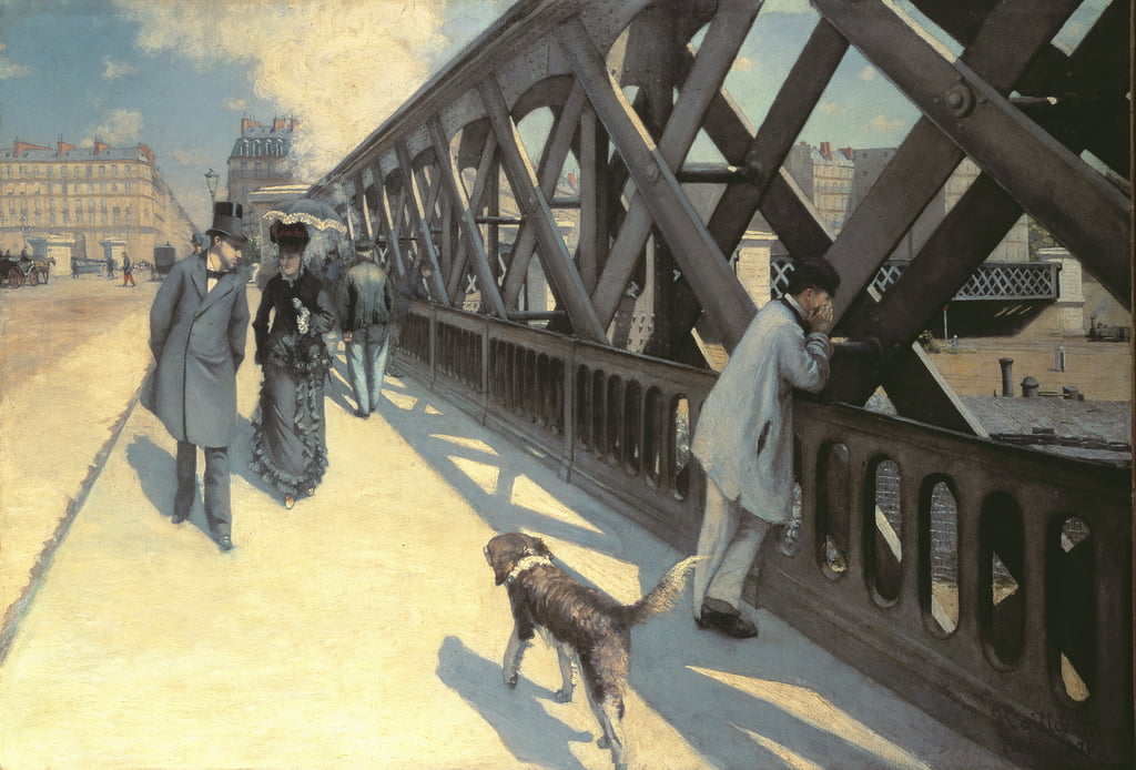 The Bridge of Europe, 1876 (per dettagli vedi 82874) da Gustave Caillebotte