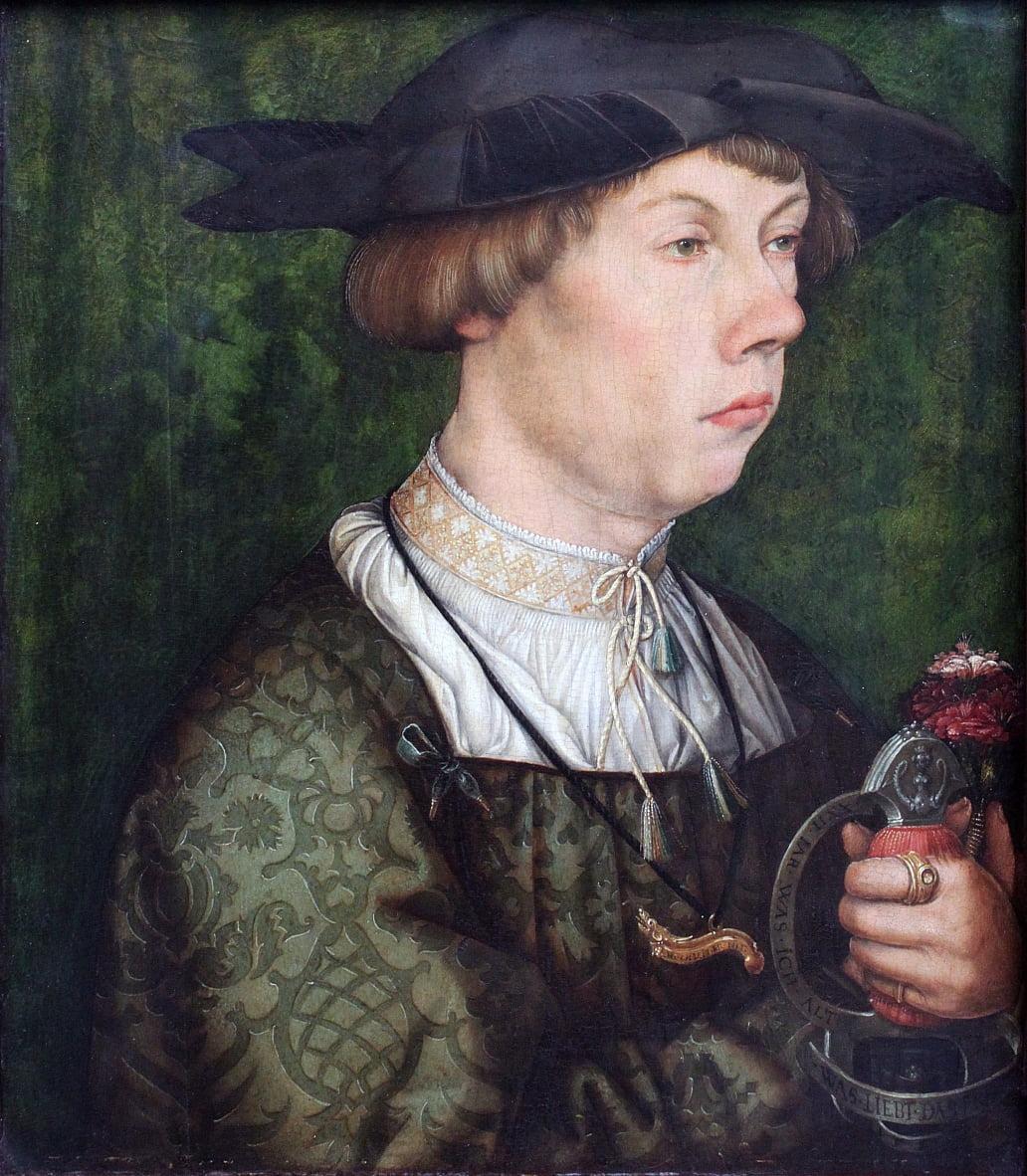 Ritratto di un membro della famiglia Weiss di Augusta da Hans Holbein the Elder