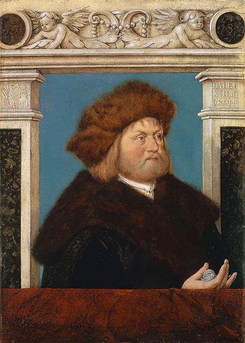 Ritratto di Philip Adler, 1513 da Hans Holbein the Elder