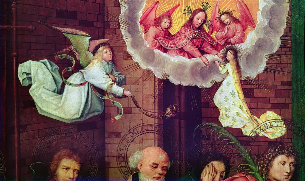 La morte della Vergine (particolare) da Hans Holbein the Elder