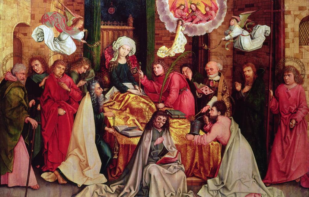 La morte della Vergine (vedi anche 53556) da Hans Holbein the Elder