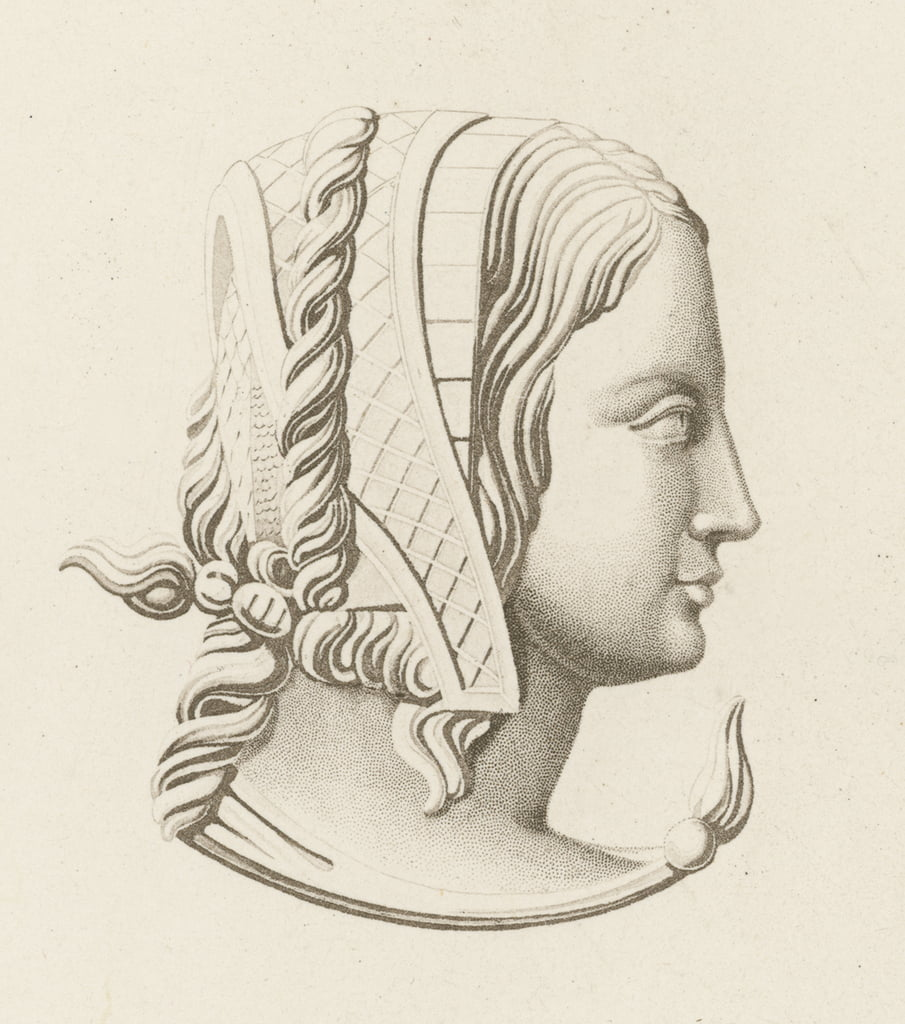 Head Dress III, inizi del XVI secolo da Henry Shaw