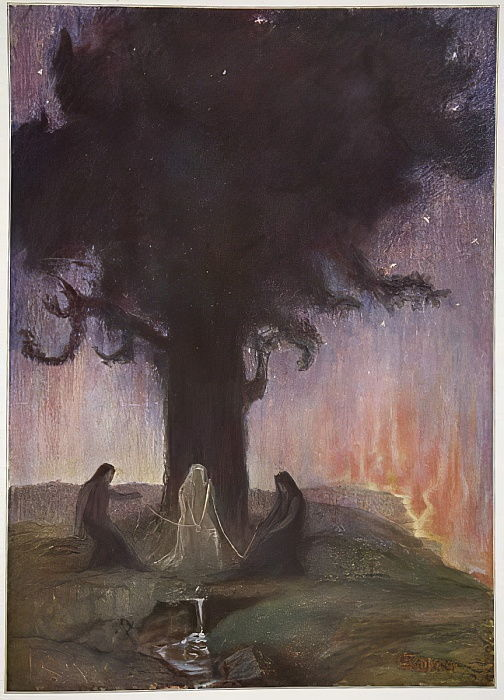 The Norns, 1906 da Hermann Hendrich