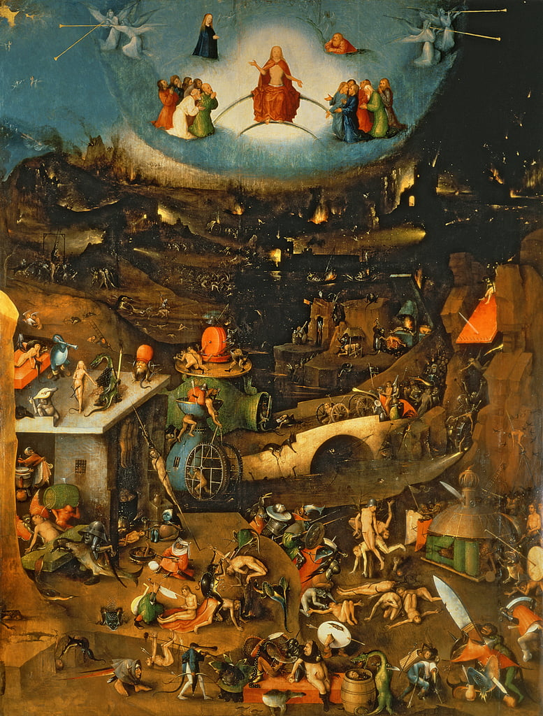 The Last Judgment da Hieronymus Bosch
