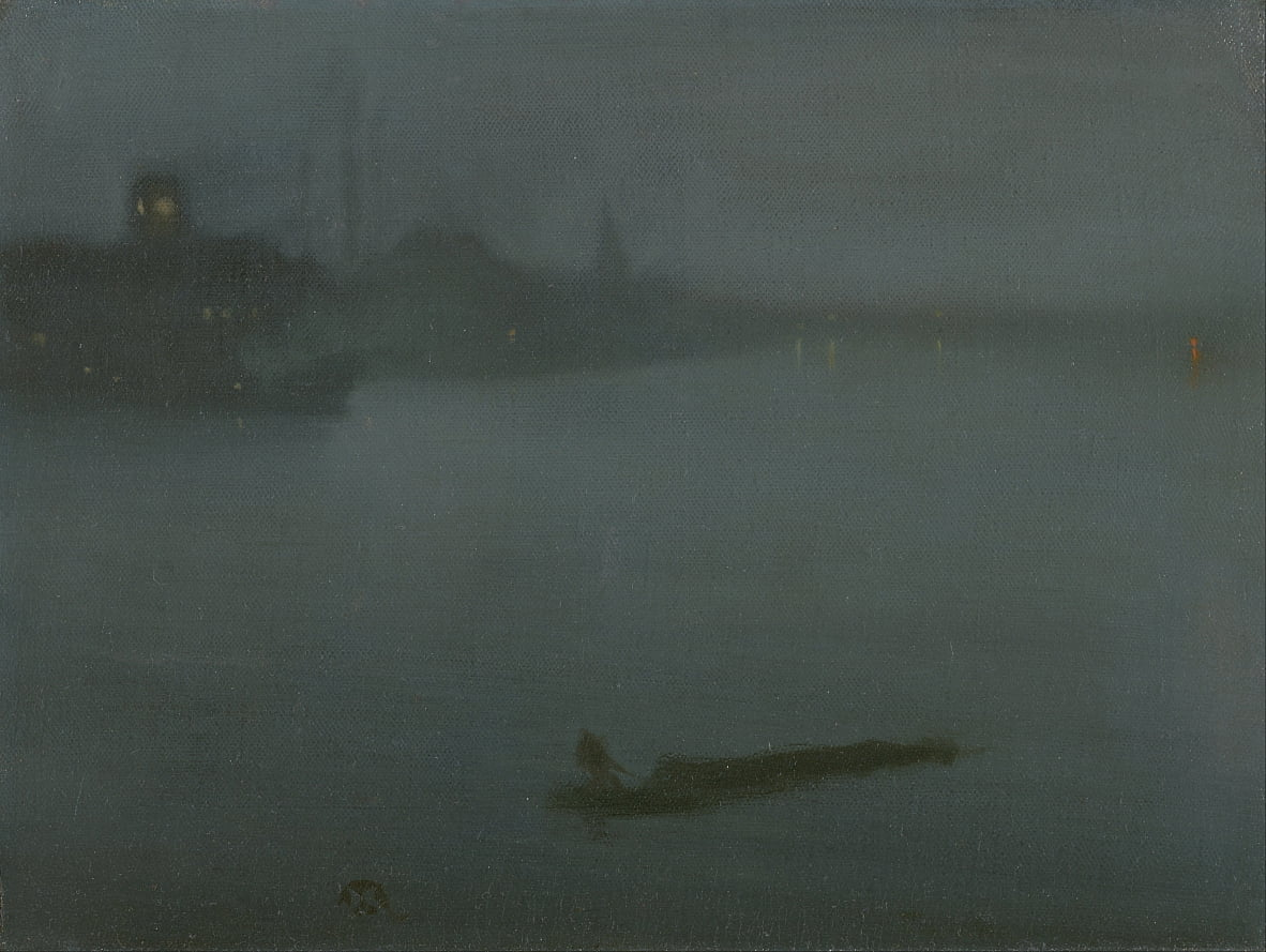Nocturne in blu e argento da James Abbott McNeill Whistler