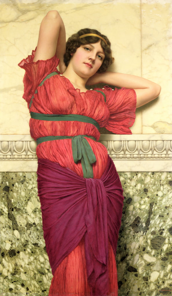 Contemplazione da John William Godward