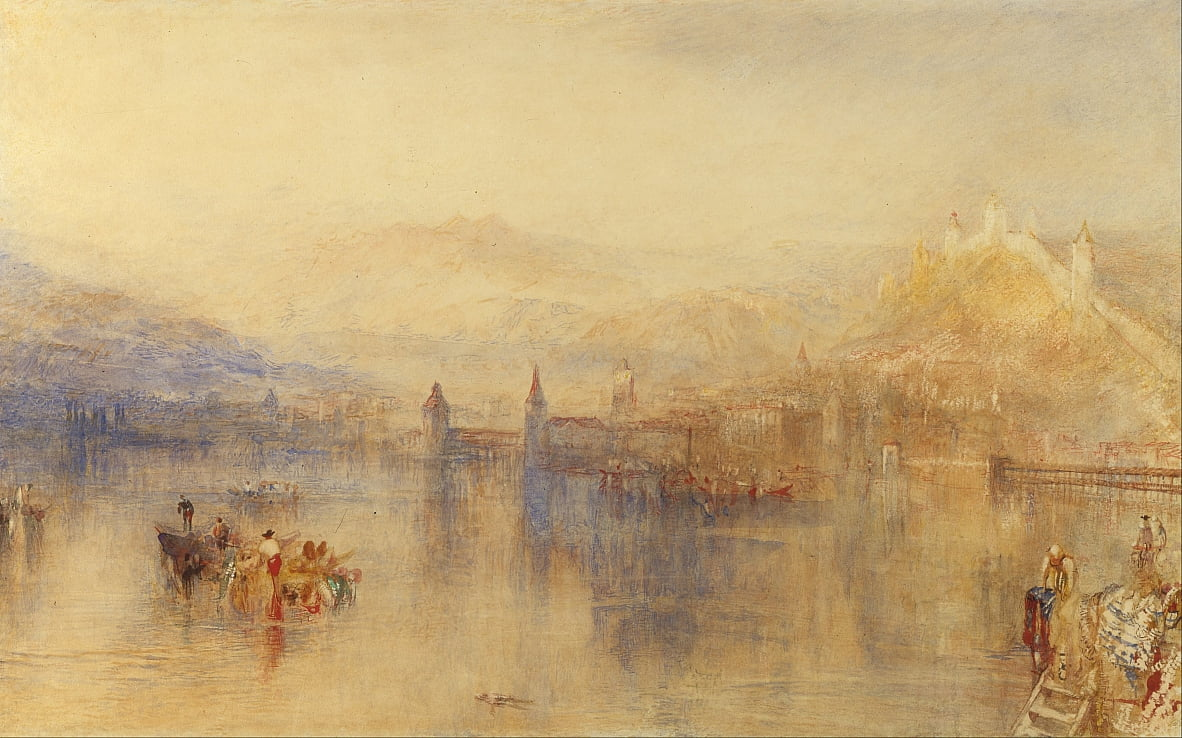 Lucerna dal Lago da Joseph Mallord William Turner