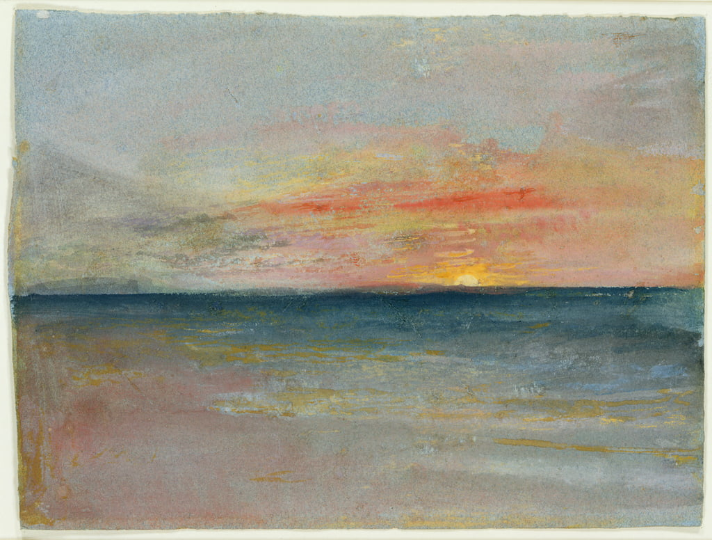 Studio del cielo da Joseph Mallord William Turner