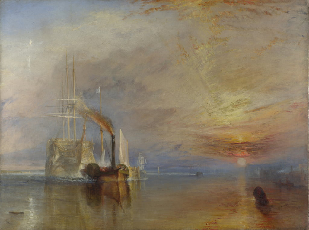 The Fighting Temeraire, 1839 da Joseph Mallord William Turner