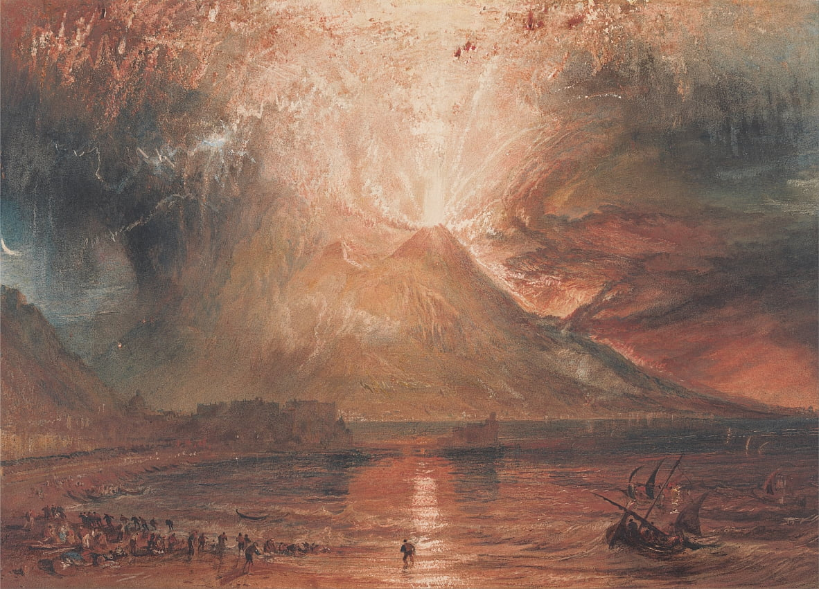 Il Vesuvio in Eruzione da Joseph Mallord William Turner