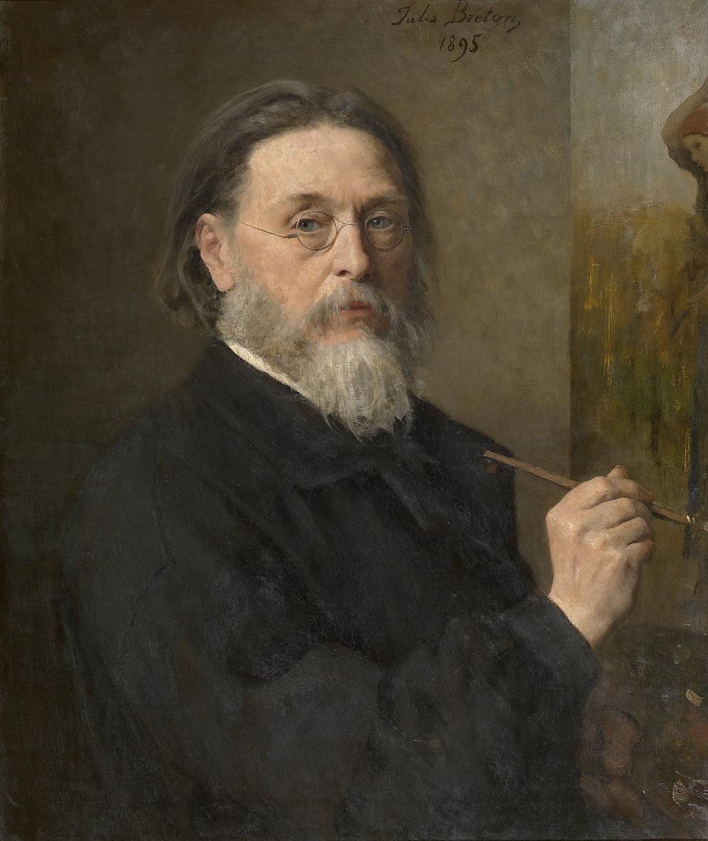 Auto ritratto da Jules Breton