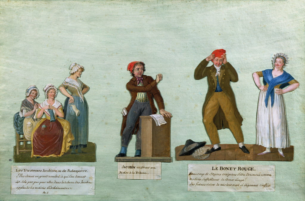 Jacobin Knitters, Jacobin e Red Bonnet da Lesueur Brothers