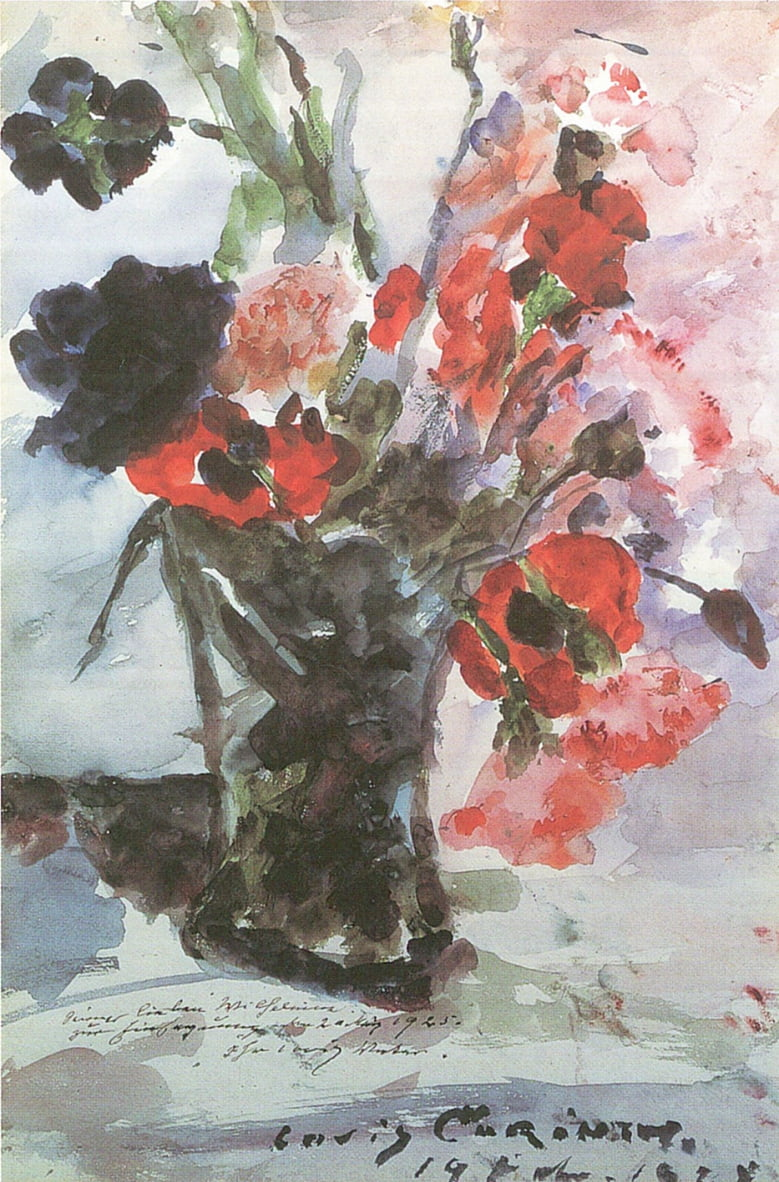 Konfirmationsblumenn da Lovis Corinth