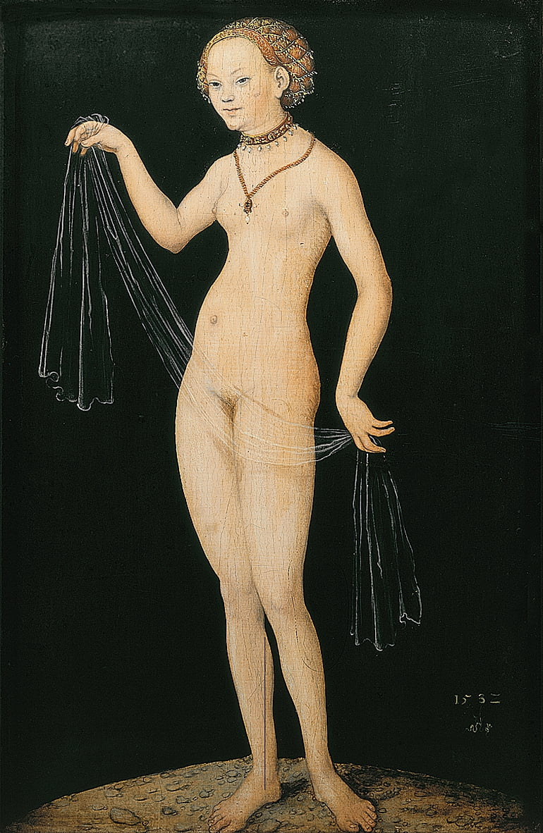 Venere da Lucas Cranach the Elder