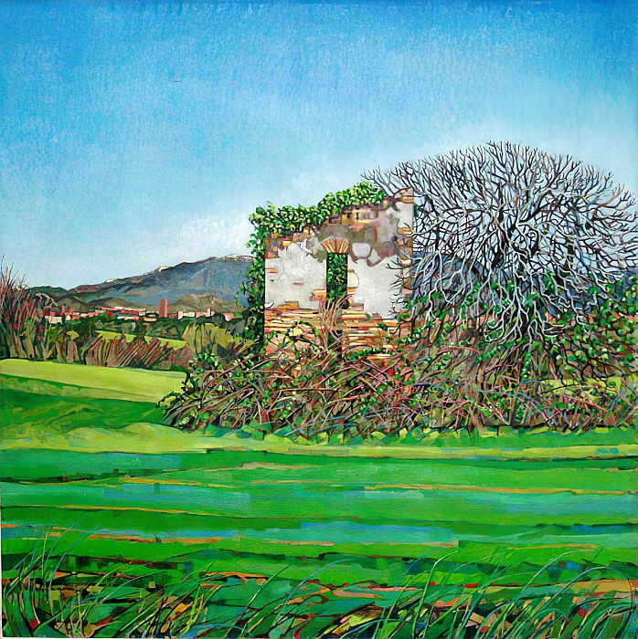 Appia Antica, House, 2008  da Noel Paine