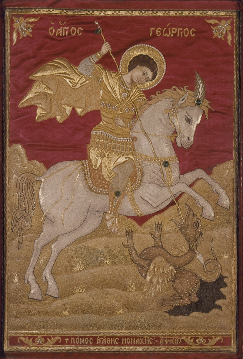 St George il drago-assassino da Nun Agathe