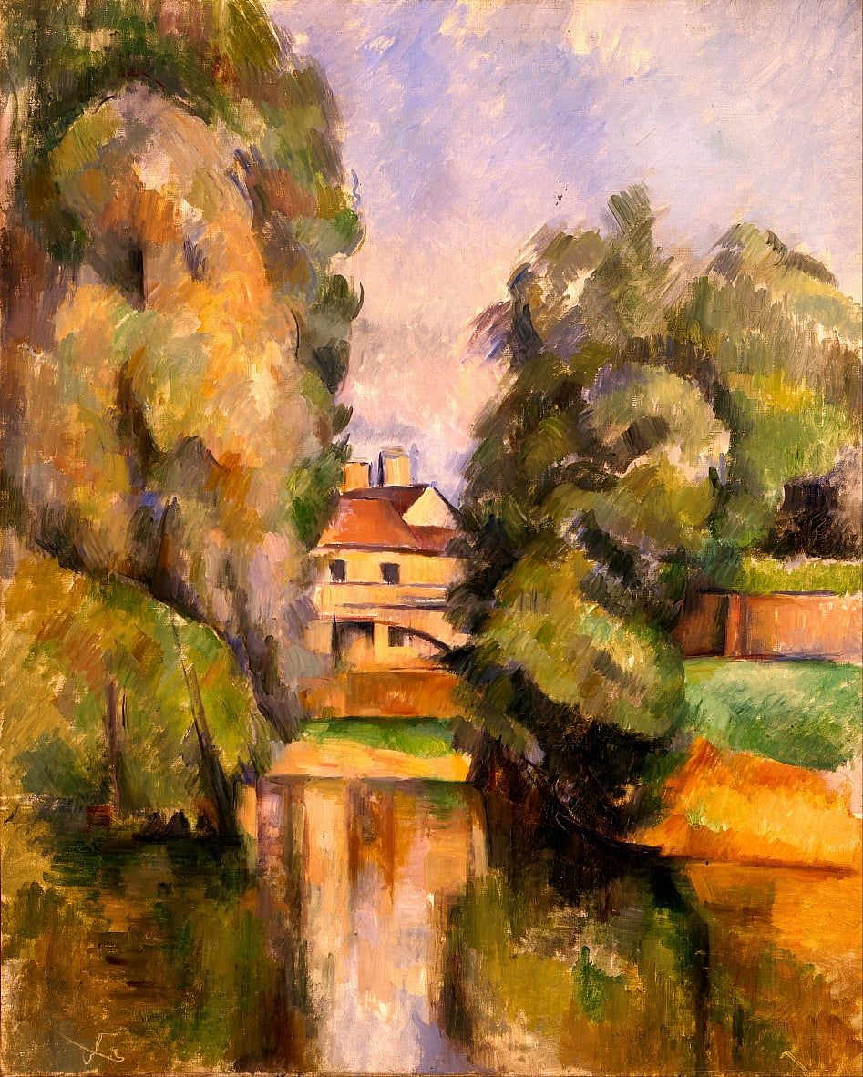 Country House by a River da Paul Cézanne