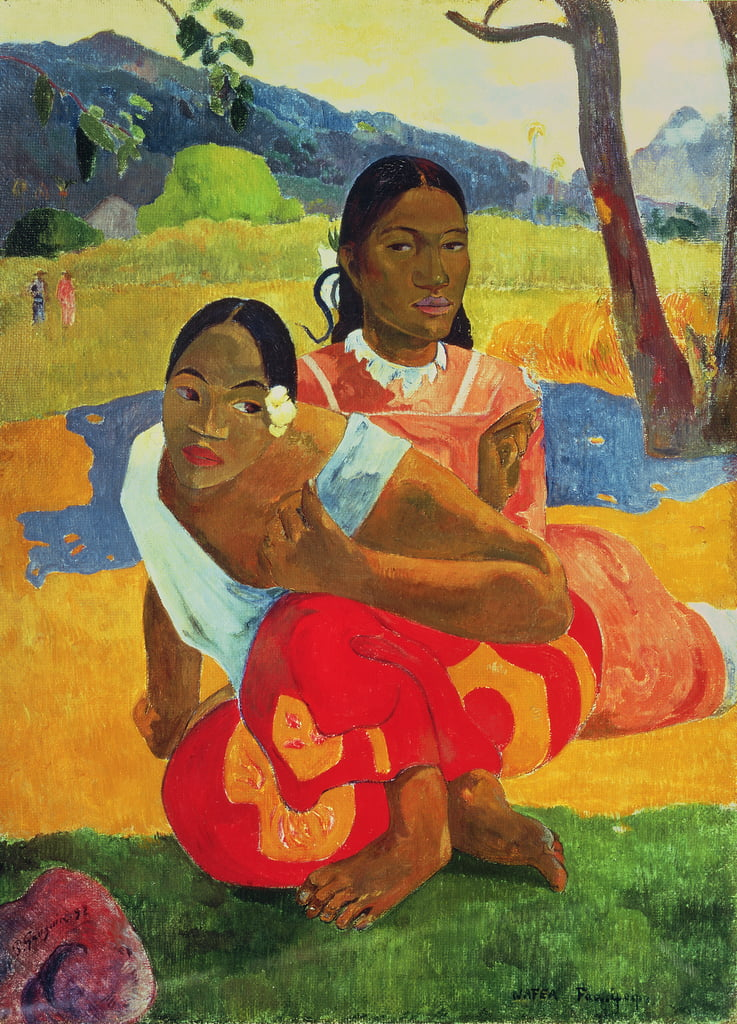 Nafea Faaipoipo (When you&39;re Married), 1892 da Paul Gauguin