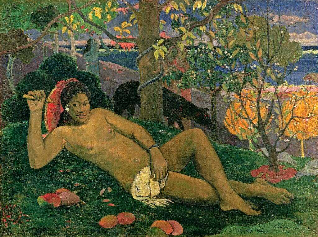 The King's Wife, 1896 da Paul Gauguin