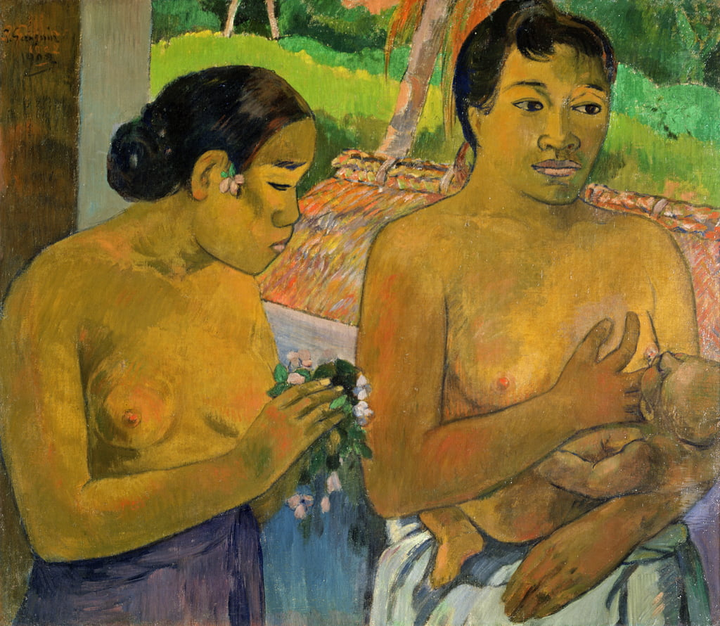 L'offerta, 1902 da Paul Gauguin