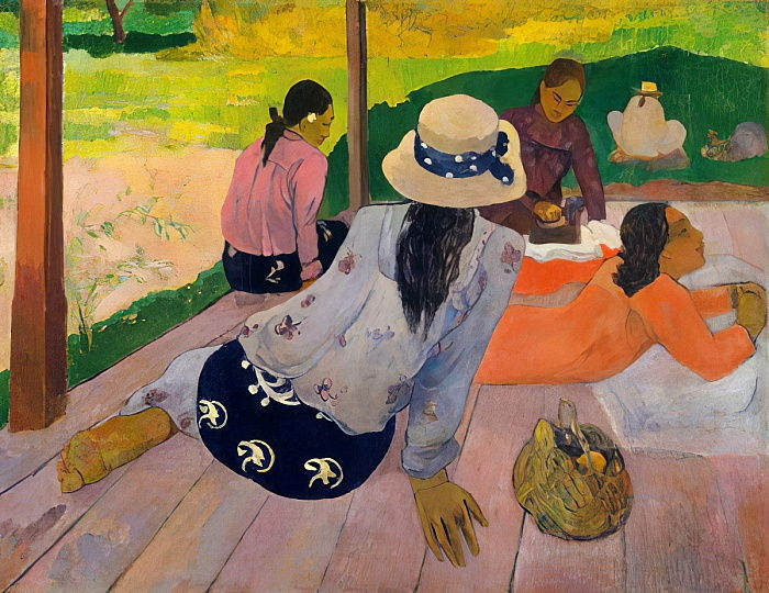 La Siesta, 1892-94 da Paul Gauguin